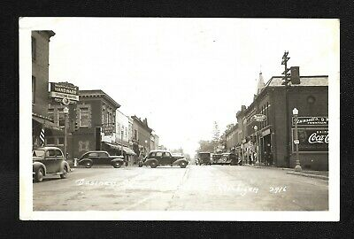 US Vintage RPPC Postcard 1941 Northville Michigan Real Photo |