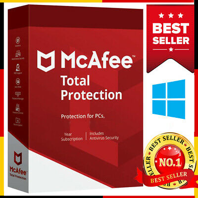 McAfee Total Protection 2019 1 Pc✅10 year Antivirus✅Fast delivery📩