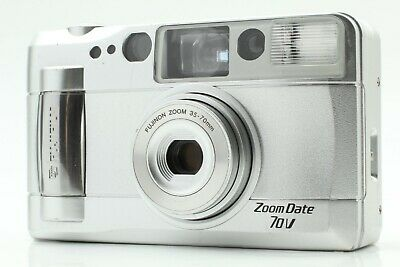 [EXC+5] Fujifilm Zoom Date 70V 35mm Point & Shoot Film Camera from Japan 203