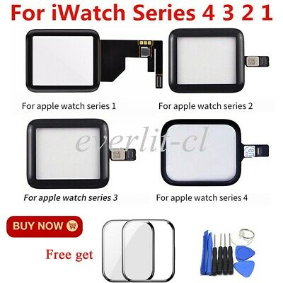 For Apple Watch iWatch Series4 3 2 1 Front Touch Screen Digitizer Glass+Tool Kit