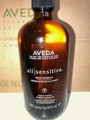 AVEDA New ALL SENSITIVE  Body Formula Composition Oil Organic Jojoba 473ml 16oz
