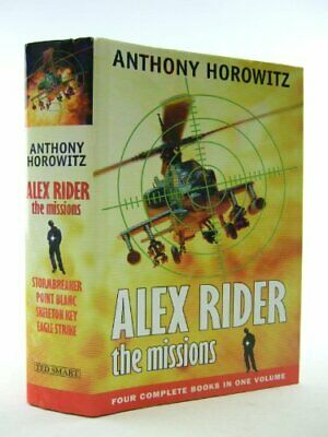 ALEX RIDER The Missions by Horowitz, Anthony, Good Used Book (Hardcover) FREE &
