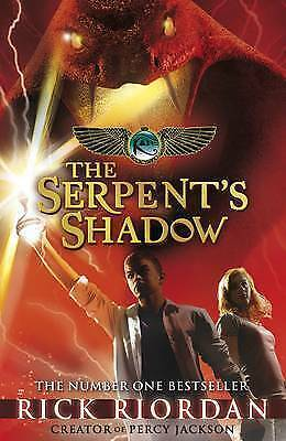 The Kane Chronicles: The Serpent's Shadow by Riordan, Rick, Hardcover Used Book,