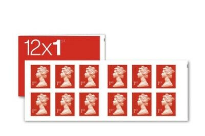 Royal Mail Stamps 1st class Book of 12x50 (300 Letter Stamps)