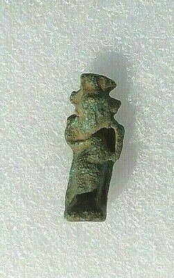 Bes Egyptian God Ancient Faience Amulet 1648 to 1455 BC Egypt Old Kingdom