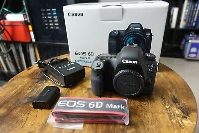Canon EOS 6D Mark II Digital SLR Camera Body ONLY, ShutterCount Is 557