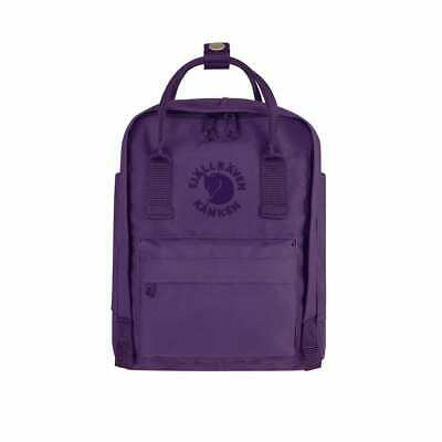 Fjallraven Mini Re-Kanken Deep Violet Backpacks Bags