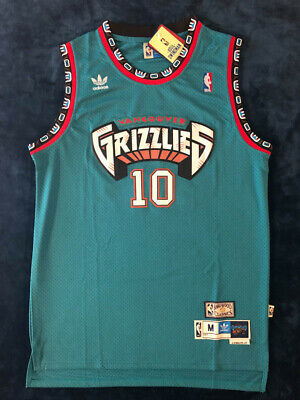 Mike Bibby Vancouver Grizzlies MEN'S Teal #10 Mens Jersey Sz S-2XL