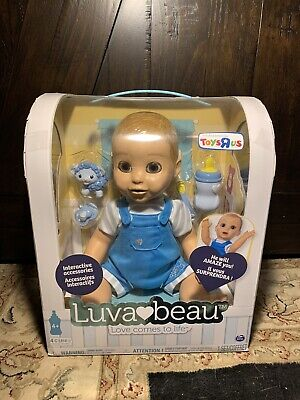 Luva Beau Toys R Us Exclusive Interactive Baby Doll