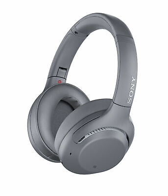 Sony WH-XB900N Extra Bass Wireless Bluetooth Noise Canceling Headphones, Gray