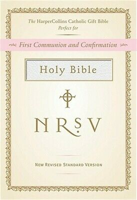 HarperCollins Catholic Gift Bible-NRSV (Leather / Fine Binding)