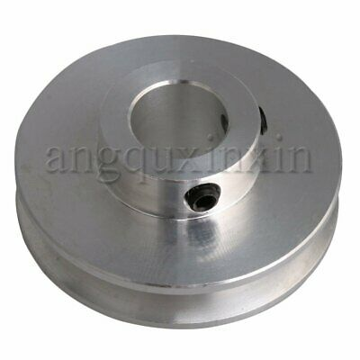 V Groove 3-5mm PU Round Belt Step Pulley for Milling Drilling Machine 41x12mm