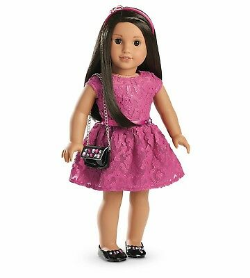 NIB ~ American Girl MERRY MAGENTA OUTFIT ~ Christmas Holiday Valentine's Day