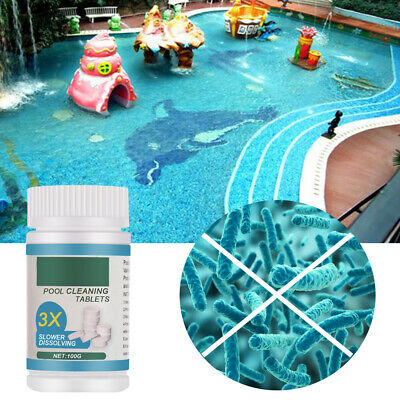 Tools Effervescent Swimming Floater Pool Cleaning Tablet Concentrated Cleaner