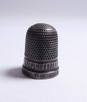Silver thimble 925 Chester 1957 CH