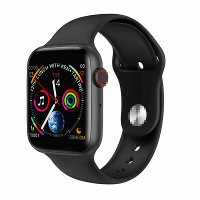 Unisex W34 Bluetooth Call Smart Watch ECG Heart Rate Monitor for Android
