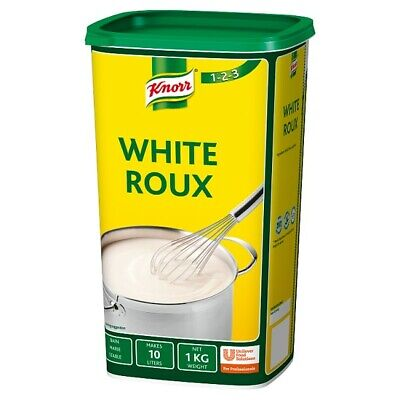 Knorr White Roux - Large Professional Catering 1 Kg Tub - Makes 10 Litres