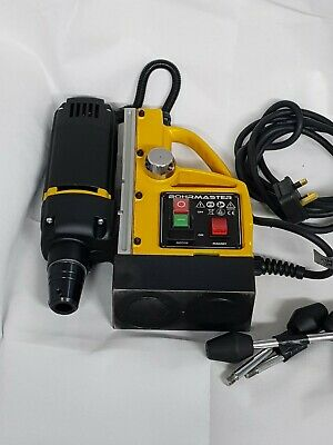 BOHRMASTER BHM35 240VOLTAGE MAG DRILL12mm-35mm Cutters