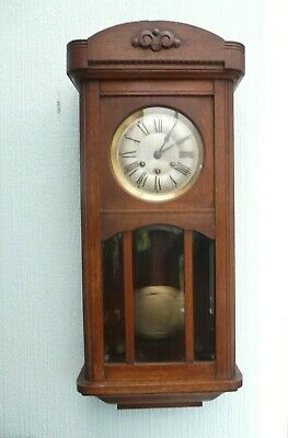 Gustav Becker Westminster Chime Wall Clock - Working (Bristol Area)