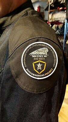 Indian Motorcycle FALLEN & HOMETOWN HERO jacket patch