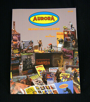 """1992 Book """"Aurora : History and Price Guide"""" by Bill Bruegman, Excellent Shape"""