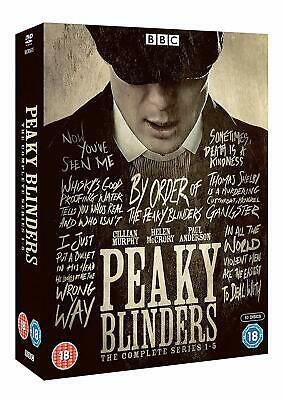 Peaky Blinders - Complete Collection (10 Disc DVD Set) Series 1 - 5 New Sealed