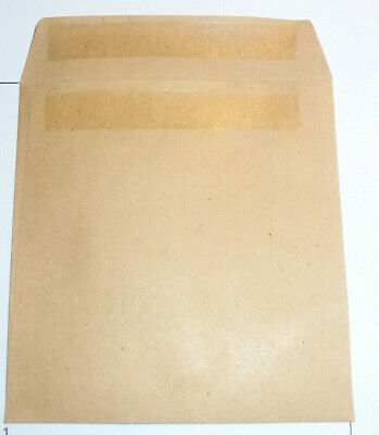 Wage Envelopes 108x102mm Plain Self Seal Qty 100 Ideal for School Packet Money.