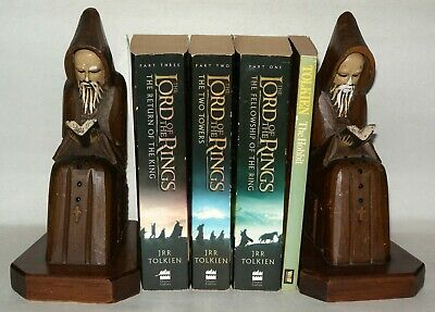 J.R.R. Tolkien 4 Paperback Book Bundle, The Lord of The Rings/ Hobbit 2001/1980