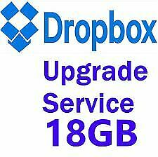Dropbox Upgrade Referral Service +18GB Permanent Storage for Lifetime
