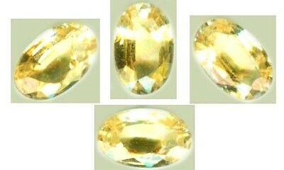 Yellow Sapphire Antique Gemstone of Ancient China India Scythia Silk Route 19thC