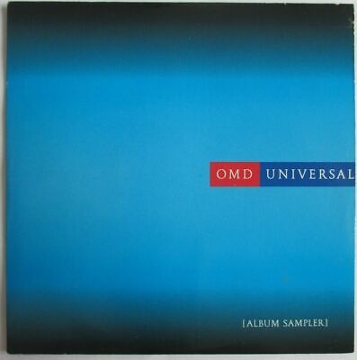 "Omd (Orchestral Manoeuvres In The Dark) - 5 Tracks Promo Sampler Cd ""Universal"""