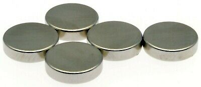 """Super Strong Magnets ( 1/2"""" x 1/8"""" ) Powerful * 2.5Kg PULL * Disc Magnet 12mm"""