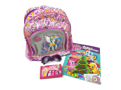 MY LITTLE PONY Back Pack + Sunglasses / Wallet / Christmas Water Paint Book