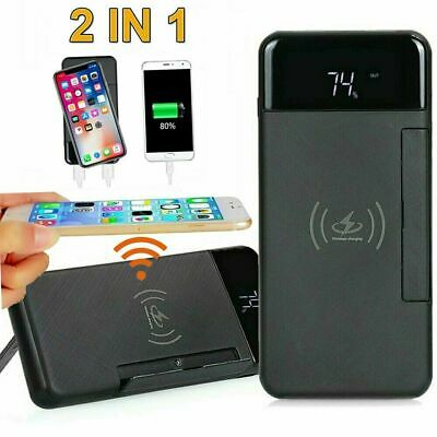 900000mAh Dual USB Backup Battery Power Bank External Charger For Mobile phone