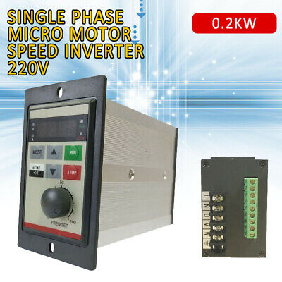 Frequency Drive Inverter 220V 1HP Single To Single Phase Variable CNC VFD
