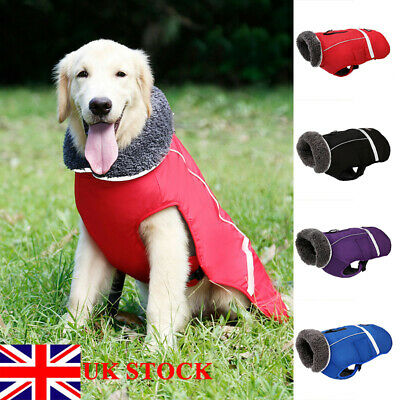 Pet Dog Waterproof Clothes Vest Coat Winter Warm Jacket Fashion Small Large Dog