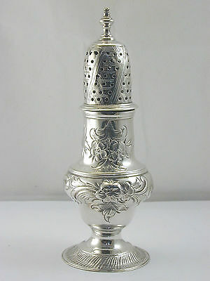Stunning Georgian sugar caster solid silver dated 1774