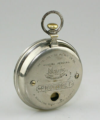 MAGIC Photoret Watch Camera c.1894 (early version) - HIGHLY SCARCE (VZ130)