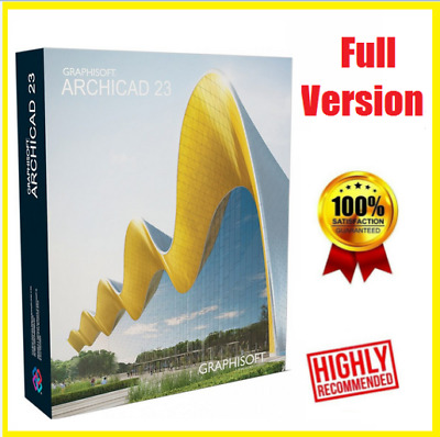 🔥🔥GRAPHISOFT ARCHICAD 23 2019 ☑ Full Version☑  Lifetime  ☑Fast Delivery 🔥
