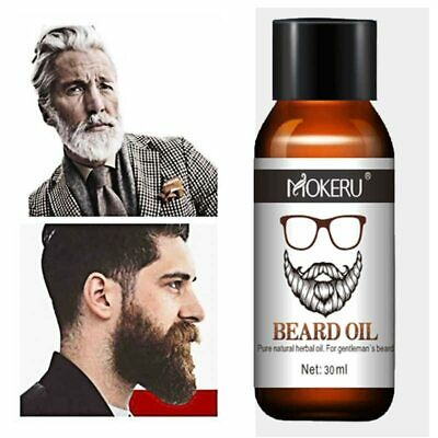 30ml 100% Natural  Beard Growth Oil For Men Beard Grooming Treatment