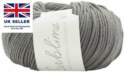 New Sublime Baby Cashmere Merino Silk DK patterns 6166-6168 £2.90 each