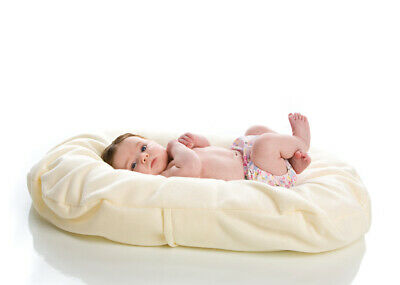 Snuggle Me Organic Ivory Cotton Fleece COVER Only