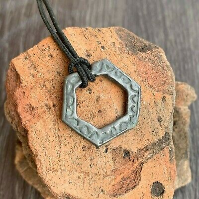 Ancient Celtic Bronze Amulet / Pendant