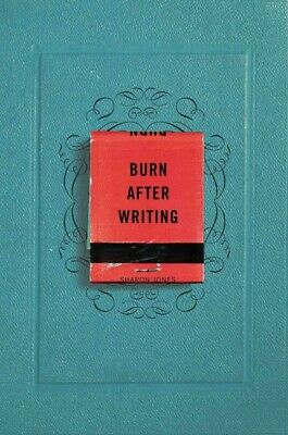 Burn After Writing, Paperback by Jones, Sharon, Brand New, Free P&P in the UK
