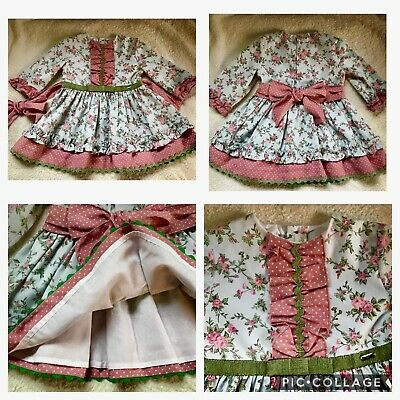 Girl 18-24 months Traditional Dolce Petit Spanish Romany Dress - Worn once!