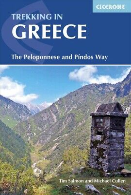 Cicerone Trekking in Greece : The Peloponnese and Pindos Way, Paperback by Sa...