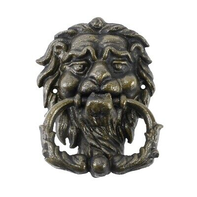 Cast Iron Lion Head Door Knocker Vintage Style Front Door Hardware Home Decor