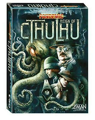 Pandemic Reign Of Cthulhu Board Game - Z-Man Free Shipping!