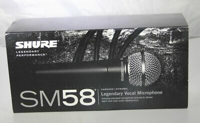 Shure SM58S Vocal Microphone Mic with On/Off Switch