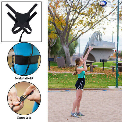 Training Aid Professional Lock Super Stretchy Rotations Volleyball Practice Belt